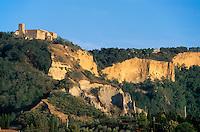 Italien, Toskana, bei Volterra, Erdabbrueche Le Balze