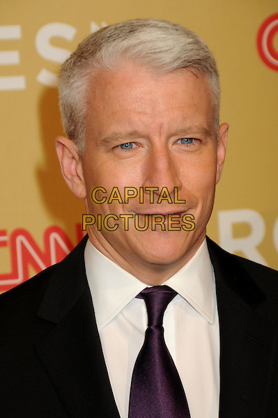 ANDERSON COOPER .CNN Heroes: An All-Star Tribute 2009 held at the Kodak Theatre, Hollywood, California, USA,.21st November 2009 .portrait headshot purple tie white shirt .CAP/ADM/BP.©Byron Purvis/AdMedia/Capital Pictures.