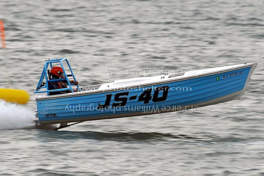 """JS-40 """"Pacifier""""  (Jersey Speed Skiff(s)"""
