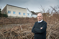 COPY BY TOM BEDFORD<br /> Pictured: Robin Waistell amongst the Japanese knotweed with his property in the background<br /> Re: A homeowner whose bungalow is towered over by Japanese knotweed on a railway line has won a four-year legal fight for compensation by Network Rail.<br /> Robin Waistell claimed he was unable to sell because the rail body had ignored requests to tackle the invasive weed on the bank behind his home in Maesteg.<br /> The case was seen as a likely test for homeowners whose property is blighted by knotweed on railway embankments.<br /> Network Rail said it would be &quot;reviewing the judgement in detail&quot;.<br /> It is understood the rail infrastructure body was refused immediate leave to appeal against the ruling.<br /> Network Rail faces potential legal costs running into six figures after losing the case in Cardiff bought by Mr Waistell and a neighbour.<br /> Widower Mr Waistell, 70, had moved to the bungalow from Spain after his wife died.<br /> He had hoped to return to the sun, but found his property sale stymied by the knotweed growing on adjacent Network Rail land and was asking for &pound;60,000 compensation for loss of value.