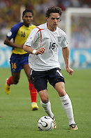 Owen Hargreaves.  England defeated Ecuador, 1-0, in their FIFA World Cup round of 16 match at Gottlieb-Daimler-Stadion in Stuttgart, Germany, June 25, 2006.
