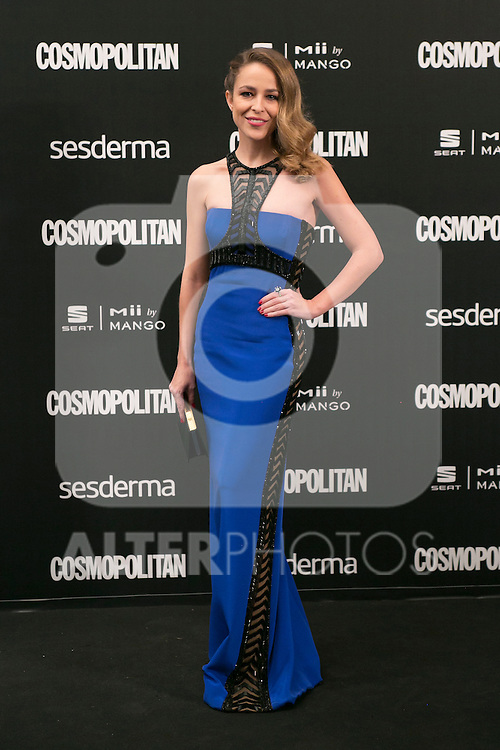 Silvia Abascal attend the photocall of the Cosmopolitan Fun Fearless Female 2014 Awards at the Ritz Hotel in Madrid, Spain. October 20, 2014. (ALTERPHOTOS/Carlos Dafonte)