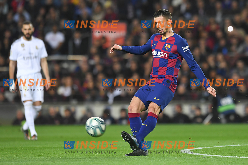 Clement Lenglet <br /> 18/12/2019 <br /> Barcelona - Real Madrid<br /> Calcio La Liga 2019/2020 <br /> Photo Paco Largo Panoramic/insidefoto <br /> ITALY ONLY