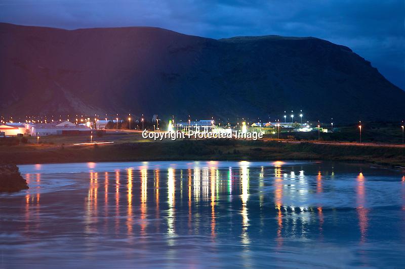 Selfoss Night Iceland