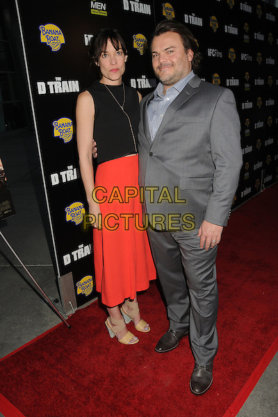 27 April 2015 - Hollywood, California - Tanya Haden, Jack Black. &quot;D Train&quot; Los Angeles Premiere held at Arclight Cinemas. <br /> CAP/ADM/BP<br /> &copy;BP/ADM/Capital Pictures