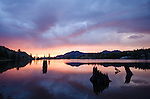 Sunrise at Upper Kinney Lake, Toiyabe National Forest, California