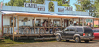 The Tin Foyl Cafe located on Route 66 in Foyl Oklahoma.