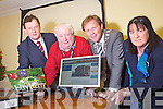 Pictured at the launch of the Cahmber of Commerce website at their offices in the Mall, Tralee on Tuesday were from left: James O'Carroll, President of Tralee Chamber Of Commerce, Danny Leane, Arthur Spring and Bernie Griffin.