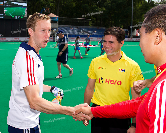 25/06/2015<br /> HWL Semi Final Antwerp Belgium 2015<br /> Great Britain v China Men<br /> Barry Middleton (C)<br /> Photo: Grant Treeby