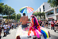 Lisa Vanderpump is seen on Day Three of LA Pride in West Hollywood, California on June 9, 2019. <br /> CAP/MPI/IS/CT<br /> ©CT/IS/MPI/Capital Pictures
