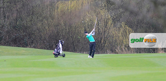 Greg Mungovan (Headfort) during the Headfort Scratch Cup, Kells, Co Meath 21/4/13.Picture: Thos Caffrey www.golffile.ie...