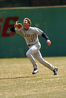 March 29,2008:  Charlie Blackmon of the Georgia Tech Yellow Jackets during a game at Shea Field in Chestnut Hill, MA.  Photo by:  Ken Babbitt/Four Seam Images