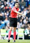 Spanish referee Inaki Vicandi Garrido during La Liga match. January 7,2016. (ALTERPHOTOS/Acero)