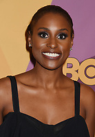 BEVERLY HILLS, CA - JANUARY 07: Actress Issa Rae arrives at HBO's Official Golden Globe Awards After Party at Circa 55 Restaurant in the Beverly Hilton Hotel on January 7, 2018 in Los Angeles, California.