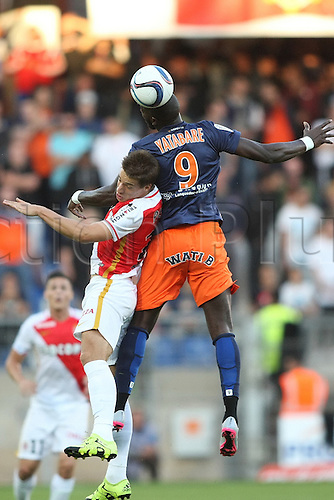 24.09.2015. Montpelier, France. French League 1 football. Montpellier versus AS Monaco.  Yatabare (mhsc)