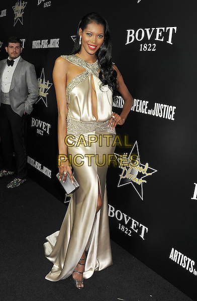 HOLLYWOOD, CA- FEBRUARY 27: Model Jessica White arrives at the Hollywood Domino's 7th Annual Pre-Oscar Charity Gala at Sunset Tower on February 27, 2014 in West Hollywood, California.<br /> CAP/ROT/TM<br /> &copy;Tony Michaels/Roth Stock/Capital Pictures