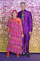 LONDON, UK. October 23, 2018: Zandra Rhodes at the world premiere of &quot;Bohemian Rhapsody&quot; at Wembley Arena, London.<br /> Picture: Steve Vas/Featureflash