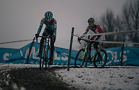 Gianni Siebens (BEL/U23)<br /> <br /> U23 Men's Race<br /> CX Vlaamse Druivencross Overijse 2017