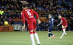 12.02.2020 Kilmarnock v Rangers: Scott Arfield scores with a long range piledriver