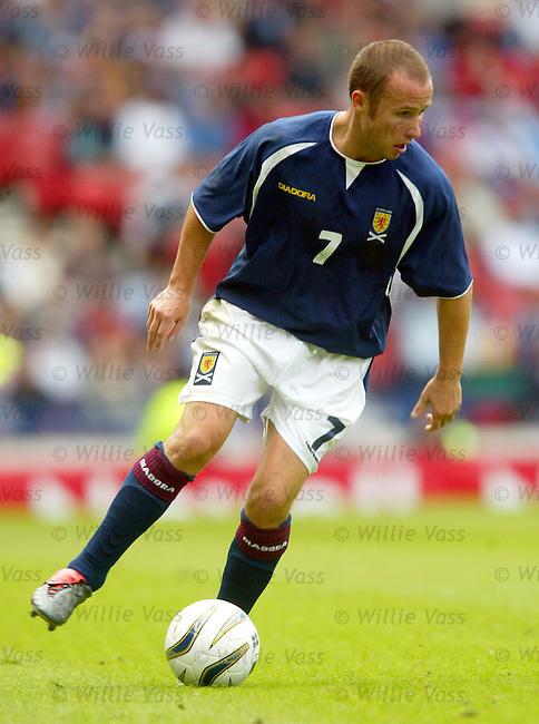 Paul Devlin, Scotland.stock season 2003-04..pic willie vass