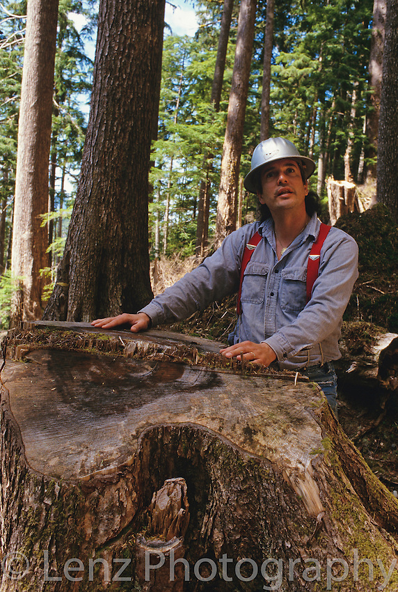 Fish gulley debris, Haida Gwaii, B.C. Environmental journalist Ben Parfitt surveys public land logging and destruction of fish habitat on Haida Gwaii.