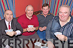 Full House - Enjoying themselves at the Poker Drive in aid of the Autism Unit at Killahan NS held in McElligot's Bar Abbeydorney on Friday night were l/r Sean Whelan, Edward O'Connor, James O'Connor and T.J. Meehan...................................................................................................................................................................................................................................................................................................................... ............