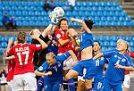 Thora Helgadottir, Women's EURO 2009 in Finland.Iceland-Norway, 08272009, Lahti