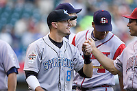 July 15, 2009: Syracuse Chiefs' Seth Bynum during the 2009 Triple-A All-Star Game at PGE Park in Portland, Oregon.