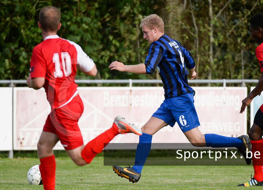FC Veldegem : Tristan Haussermann <br /> Foto VDB / Bart Vandenbroucke