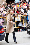 Princess Letizia of Spain visits Alcaniz village on November 7, 2012 in Alcaniz, Teruel, Spain.(ALTERPHOTOS/Harry S. Stamper)