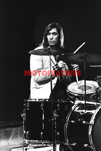 Rolling Stones 1969 Charlie Watts on Top Of The Pops