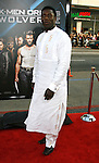 "HOLLYWOOD, CA. - April 28: Hakeem Kae-Kazim arrives at ""X-Men Origins: Wolverine"" Los Angeles Industry Screening at Grauman's Chinese Theatre on April 28, 2009 in Los Angeles, California."