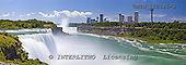 Tom Mackie, LANDSCAPES, panoramic, photos, American Falls of Niagara Falls, New York State, USA, GBTM110186-3,#L#