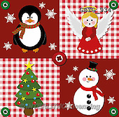 Theresa, CHRISTMAS SANTA, SNOWMAN, WEIHNACHTSMÄNNER, SCHNEEMÄNNER, PAPÁ NOEL, MUÑECOS DE NIEVE, paintings+++++,GBTG934,#x# napkins