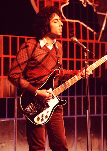 10cc  1974 Graham Gouldman on Top Of The Pops..© Chris Walter..