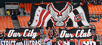 D.C. United fans. D.C. United tied The Portland Timbers 1-1at RFK Stadium, Wednesday October 19, 2011.