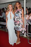 Amanda Holden and Alesha Dixon  arriving for the 2014 Glamour Awards, London. 03/06/2014 Picture by: Alexandra Glen / Featureflash