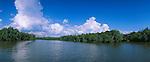 Clouds over water - Wolken ueber Wasser