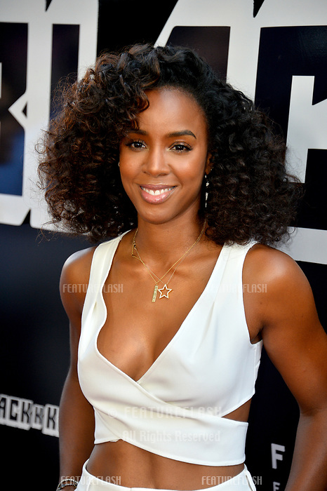 Kelly Rowland at the Los Angeles premiere of &quot;BlacKkKlansman&quot; at the Academy's Samuel Goldwyn Theatre, Beverly Hills, USA 08 Aug. 2018<br /> Picture: Paul Smith/Featureflash/SilverHub 0208 004 5359 sales@silverhubmedia.com