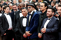 """CANNES - MAY 15:  JR and guests arrives to the premiere of """" LES MISÉRABLES """" during the 2019 Cannes Film Festival on May 15, 2019 at Palais des Festivals in Cannes, France.      <br /> CAP/MPI/IS/LB<br /> ©LB/IS/MPI/Capital Pictures"""