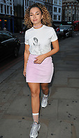 Ella Eyre at the James Bay x TOPMAN new capsule collection launch party, Ace Hotel Shoreditch, Shoreditch High Street, London, England, UK, on Tuesday 08 August 2017.<br /> CAP/CAN<br /> &copy;CAN/Capital Pictures