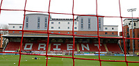 A general view prior to the Sky Bet League 2 match between Leyton Orient and Grimsby Town at the Matchroom Stadium, London, England on 11 March 2017. Photo by Carlton Myrie / PRiME Media Images.