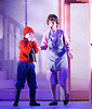The Snowman<br /> based on Raymond Briggs&rsquo; book <br /> from The Birmingham Repertory Theatre at <br /> Peacock Theatre, London, Great Britain <br /> 25th November 2015<br /> <br /> <br /> <br /> Oscar Couchman as The Boy <br /> <br /> <br /> Photograph by Elliott Franks <br /> Image licensed to Elliott Franks Photography Services