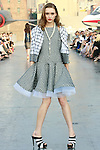 Tabea walks runway in a Douglas Hannant Resort 2012 outfit, on the USS Intrepid, June 7, 2011.