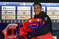 Xisco (forward; CA Osasuna) during the Spanish football of La Liga 123, match between CA Osasuna and AD Alcorcón at the Sadar stadium, in Pamplona (Navarra), Spain, on Sunday, January 6, 2019.