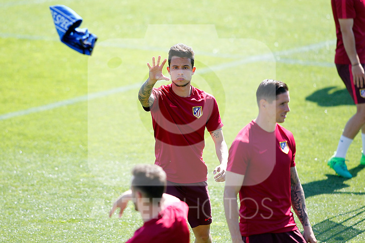 Atletico de Madrid's Juan Moreno during training session. April 11,2017.(ALTERPHOTOS/Acero)