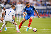 June 13th 2017, Stade de France, Paris, France; International football friendly, France versus England;  KYLIAN MBAPPE (fra) covered by Trippier (eng)