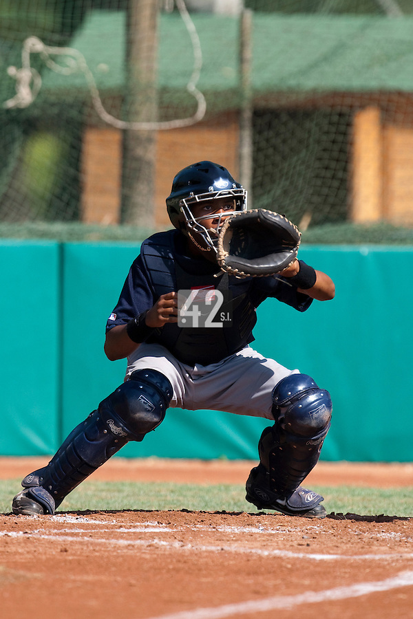 Baseball - MLB Academy - Tirrenia (Italy) - 19/08/2009 - Andy Paz (France)