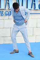 Dominic Cooper arriving for the &quot;Mama Mia! Here We Go Again&quot; world premiere at the Eventim Apollo, Hammersmith, London, UK. <br /> 16 July  2018<br /> Picture: Steve Vas/Featureflash/SilverHub 0208 004 5359 sales@silverhubmedia.com