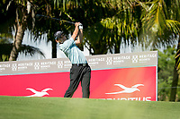 Fabrizio Zanotti (PAR) during the 1st round of the AfrAsia Bank Mauritius Open, Four Seasons Golf Club Mauritius at Anahita, Beau Champ, Mauritius. 29/11/2018<br /> Picture: Golffile | Mark Sampson<br /> <br /> <br /> All photo usage must carry mandatory copyright credit (&copy; Golffile | Mark Sampson)